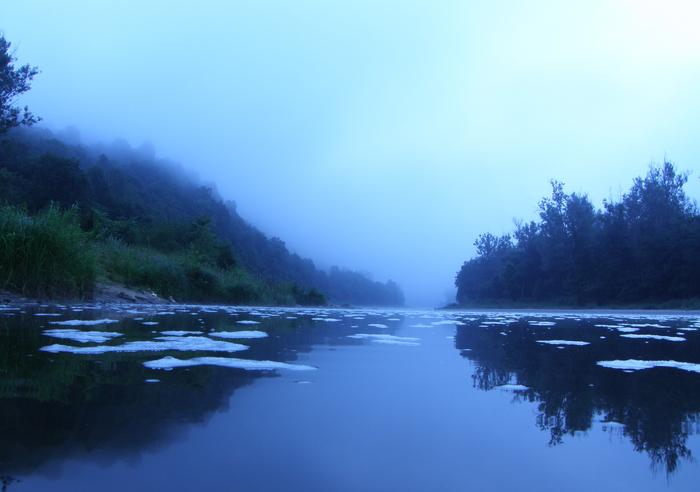 Река Инзер.Утро.