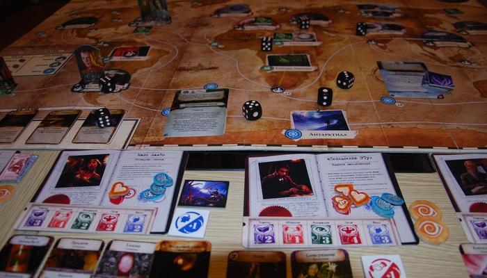 """PnP """"Древний Ужас"""" - мой опыт Eldritch horror, Pnp, Настольные игры, Настолки, Длиннопост, Ужас, Хобби, Развлечения"""
