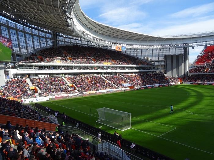 Сорвалось Футбол, Стадион, Екатеринбург, Девушки
