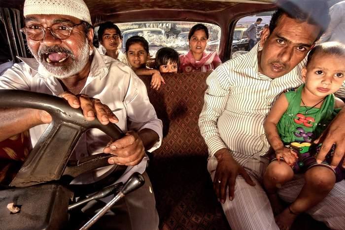 Индийское такси фото Такси, Индия, Водитель, Пассажиры, Мумбаи, Бомбей, Машина, Автомобилисты, Длиннопост