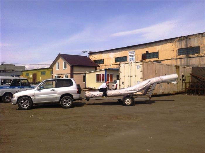 Строительство гаража (1) Гараж, Камчатка, Длиннопост