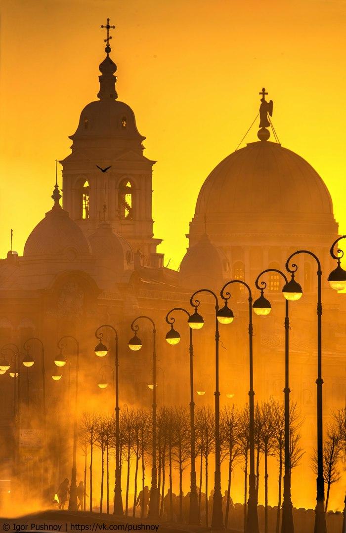Да будет свет! Игорь Пушной, Церковь Святой великомученицы, Санкт-Петербург, Фотография