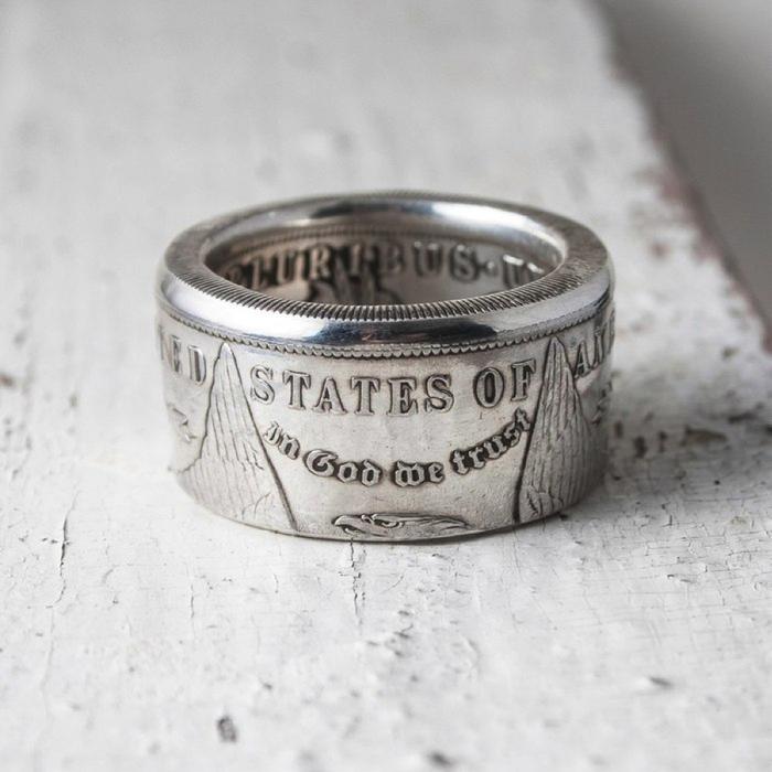 Где купить кольца из настоящих монет? длиннопост