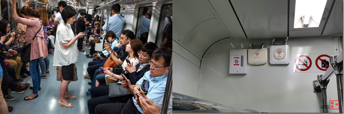 Техника в общественных местах в Корее корея, южная корея, азиаты, техника, быт, общественный транспорт, повседневность, длиннопост