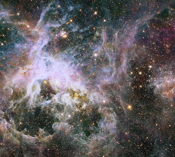Гигантские звёздные колыбели