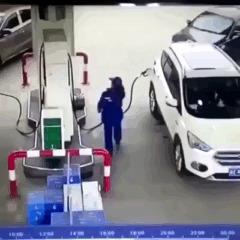 Угадайте кто за рулём?