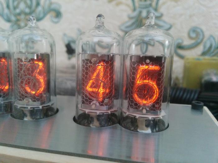 Часы на немецких лампах z573m (z5730m) Nixie clock, Diy lamp, Никси, Ламповые часы, Длиннопост