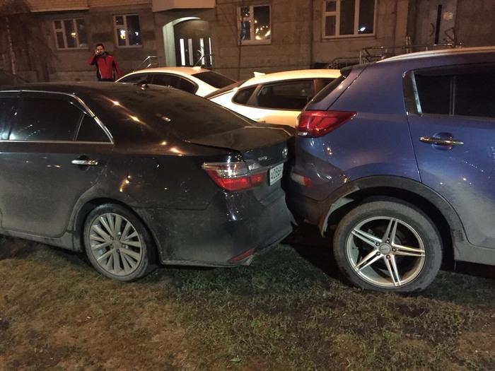 Злобный мститель или паркуйтесь по-человечески.