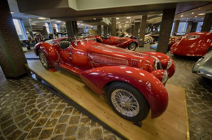 """Красная """"Alfa"""" - страсть в металле. Ретро, Музей, Alfa romeo, Страсть, Красивое, Красный, Автомобильная классика, Nikon, Длиннопост"""