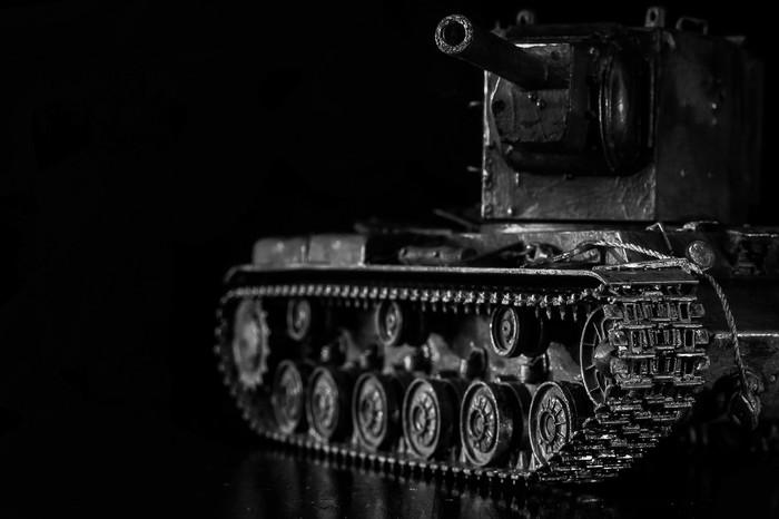 Сборная модель КВ-2 Танки, World of Tanks, Кв-2, Сборная модель, Фотография, Длиннопост