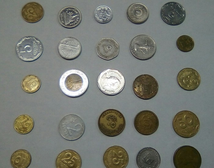 Коллекция монет Коллекция, Монета, На сдачу