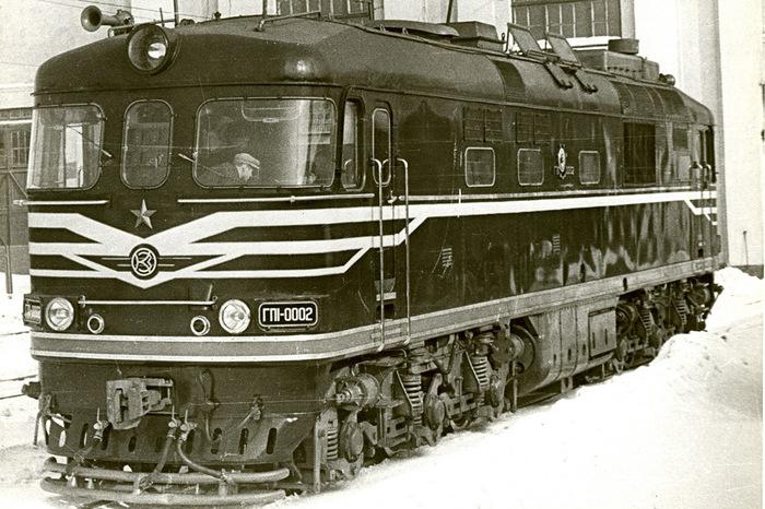 Газотурбовоз пассажирскийГП1