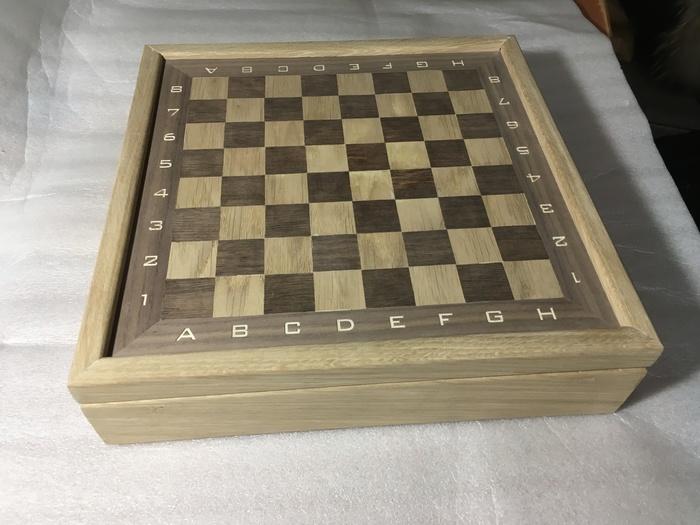 Шахматная доска-коробка своими руками. Часть 1. Длиннопост, Своими руками, Шахматная доска, Рукоделие с процессом, Недоделка