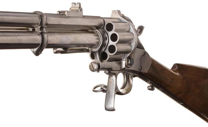 Карабин Ле Ма 1856 Комбинашка, Револьвер, Карабин, Оружие, Огнестрельное оружие