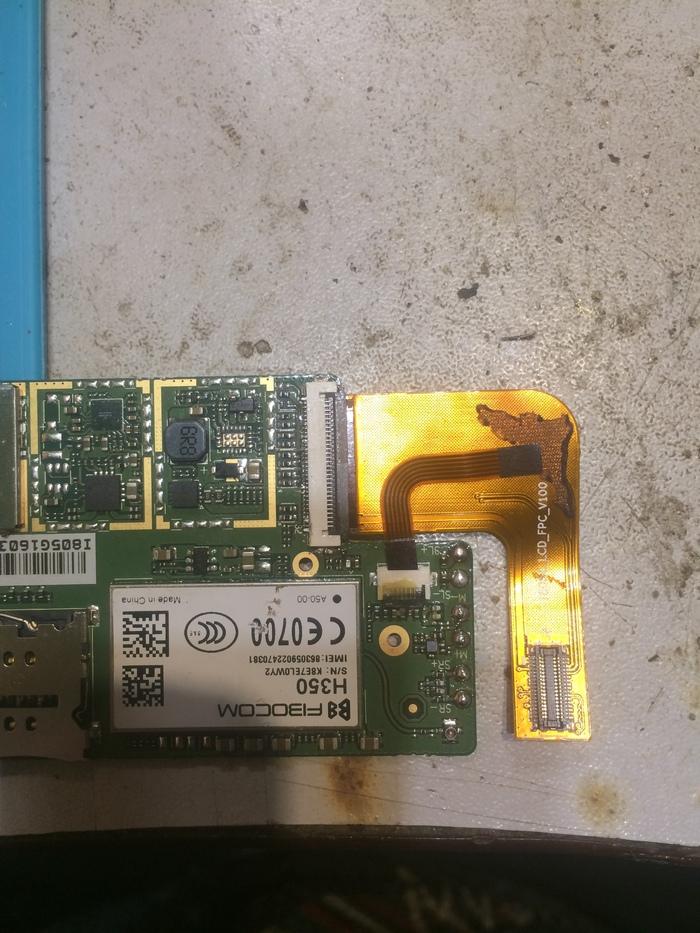 Ремонт планшета TEXET TM-8048 после клиента Ремонт планшета, Сообщество ремонтеров, Ремонт техники, Длиннопост