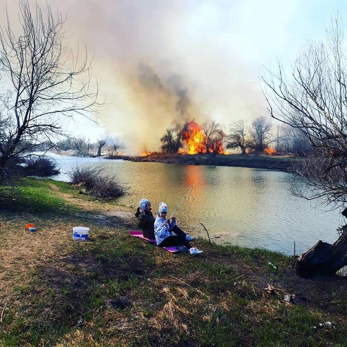 Рыбалка-просто огонь