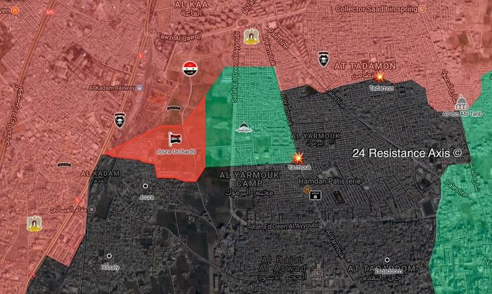 Новые изменения в битве за Дамаск Политика, Война в сирии, Перевод, ИГИЛ
