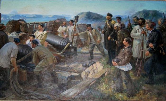 Оборона Петропавловска-Камчатского от атаки англо-французской эскадры 1854 г.. 1 часть - Основные события.