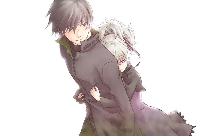 Sayonara Hei, Yin Аниме, Anime Art, Darker than Black, Hei, Yin, Длиннопост