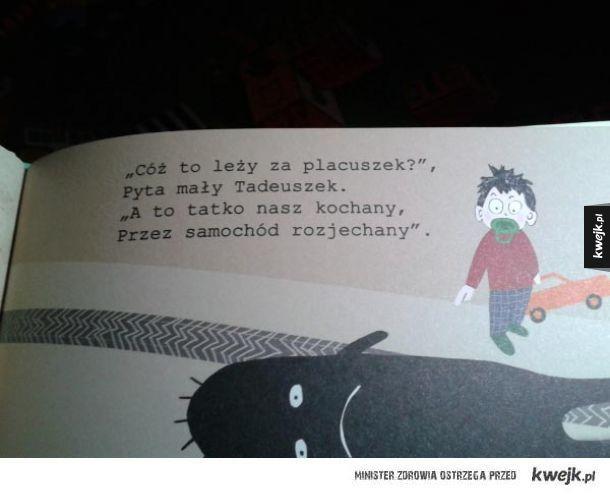 Чёрный юмор в детской книжке Польша, Польша стронг, Черный юмор, Детство, Польский язык