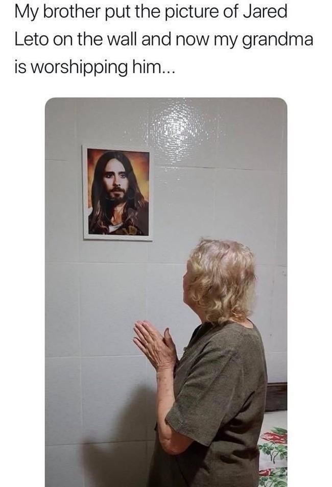 Иисус Иисус, Джаред Лето, ВКонтакте