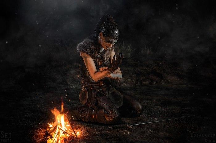 Hellblade: Senua's Sacrifice (Российский косплей) Hellblade - Senuas Sacrifice, Косплей, Фотография, Кельты, Seiphoto, Длиннопост