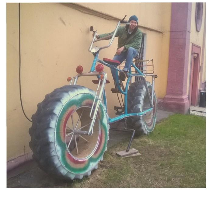 Я буду долго гнать велосипед... Велосипед, Велосипедист, Лига Инженеров, Чудо, Гибрид, Очумелые ручки