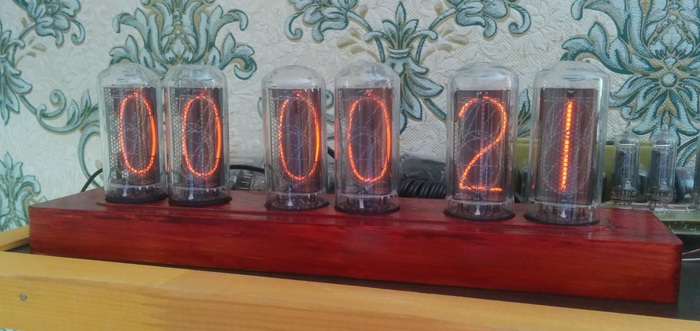 Часы на ИН-18 - самых больших из советских ламп Никси, Ламповые часы, Nixie clock, Diy lamp, Длиннопост