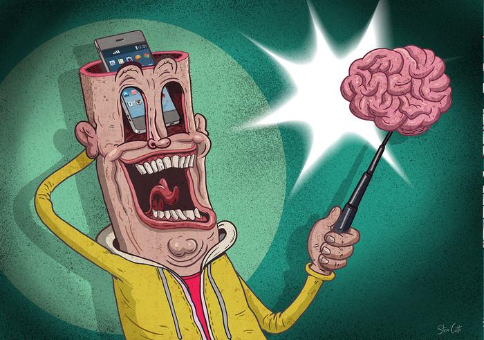 Селфи головного мозга