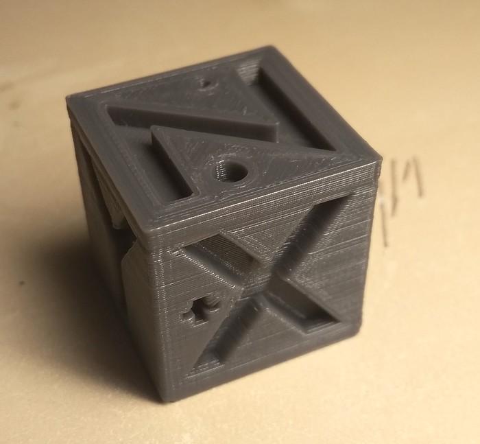 Новости юного печатника 3d печать, 3D принтер, Кубики, Тест