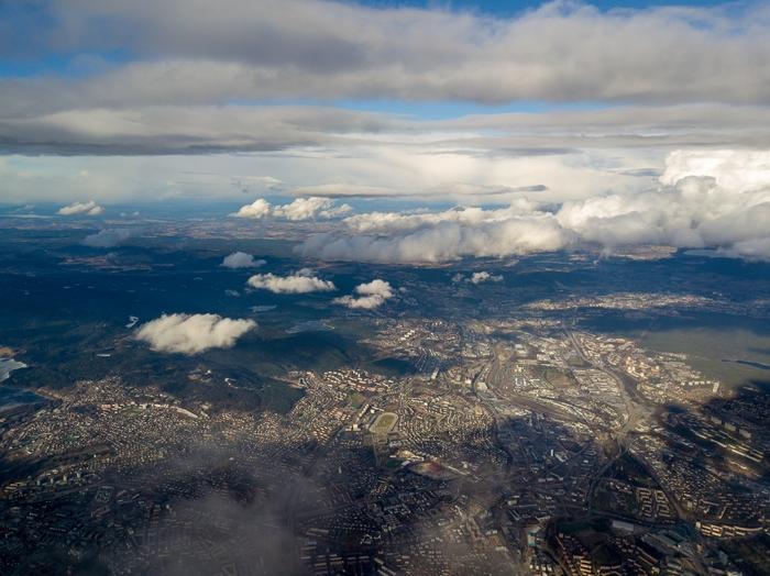Сверхвысокие полеты на дроне: Осло Квадрокоптер, Dji mavic pro, Осло, Длиннопост, Норвегия