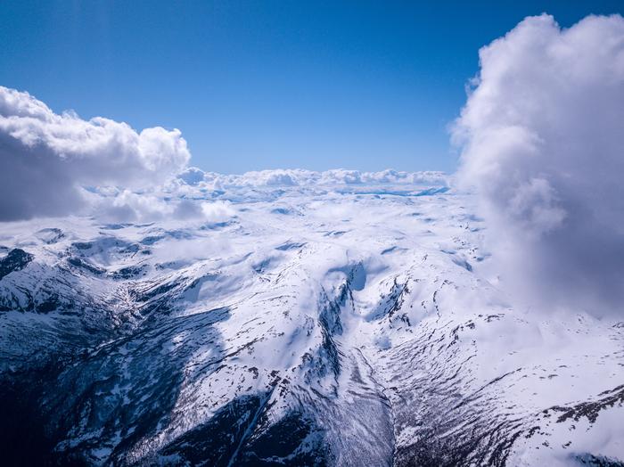 Сверхвысокие полеты на дроне: норвежские фьорды Квадрокоптер, Dji mavic pro, Норвегия, Фьорды, Длиннопост