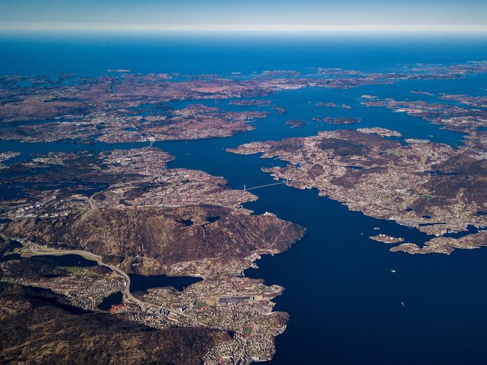 Сверхвысокие полеты на дроне: Берген Квадрокоптер, Dji mavic pro, Берген, Норвегия, Длиннопост