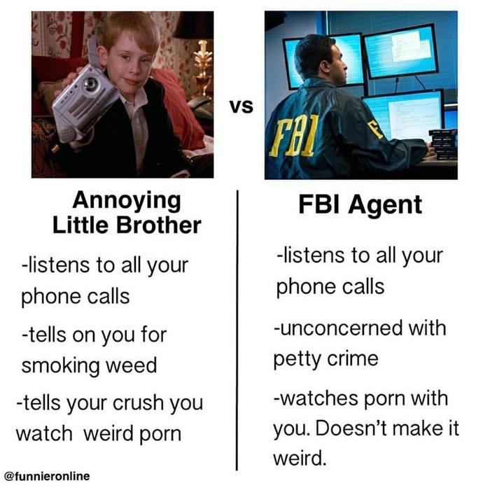 Младший брат vs агент ФБР Братvsбфр, Скриншот