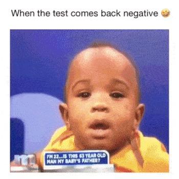 Когда тест на отцовство пришел с отрицательным результатом