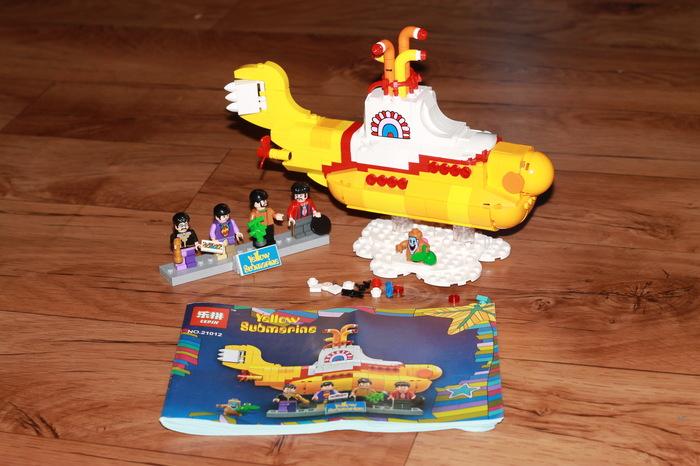 Жёлтая субмарина из Китая Lego ideas, The beatles, Yellow Submarine, Aliexpress, Длиннопост