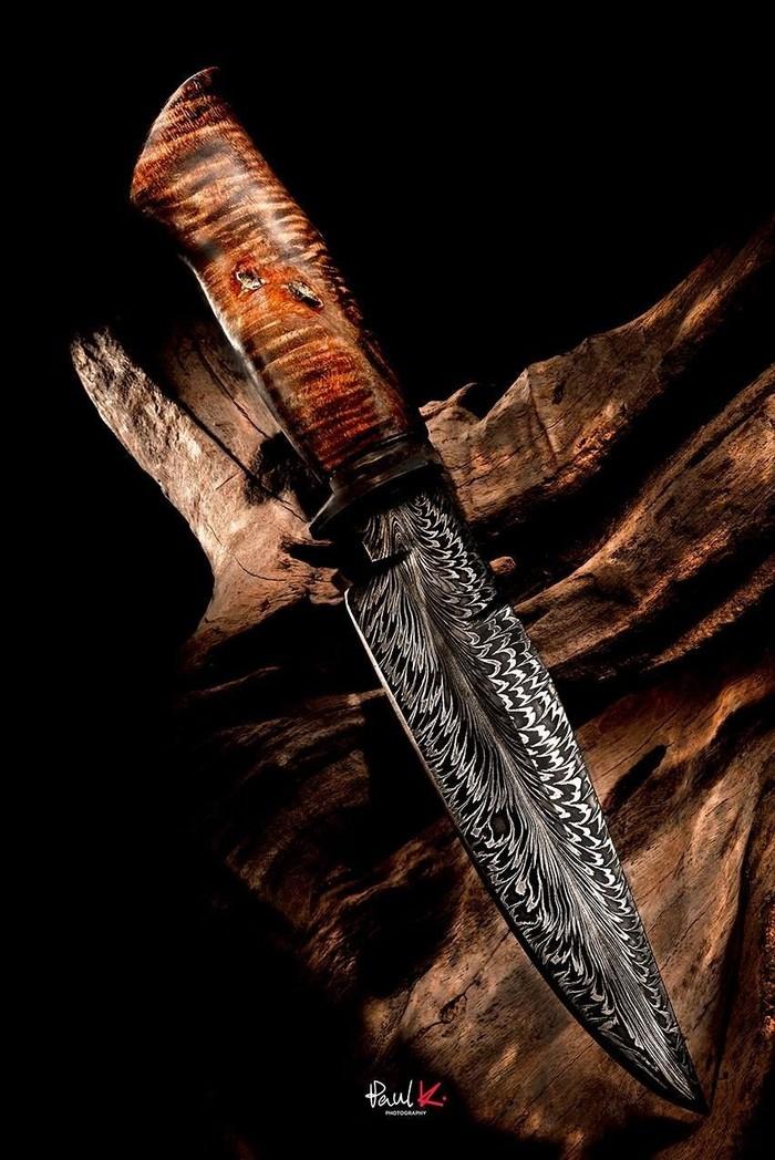 Кастомные ножи #1 Нож, Режущий инструмент, Лезвие, Дамаск, Клинок, Длиннопост
