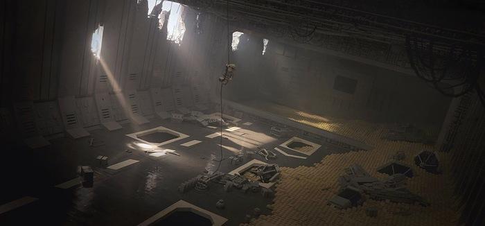 Сцена из Звездных Войн 7 из Lego! Lego, Star wars, Звездные войны VII, Reddit