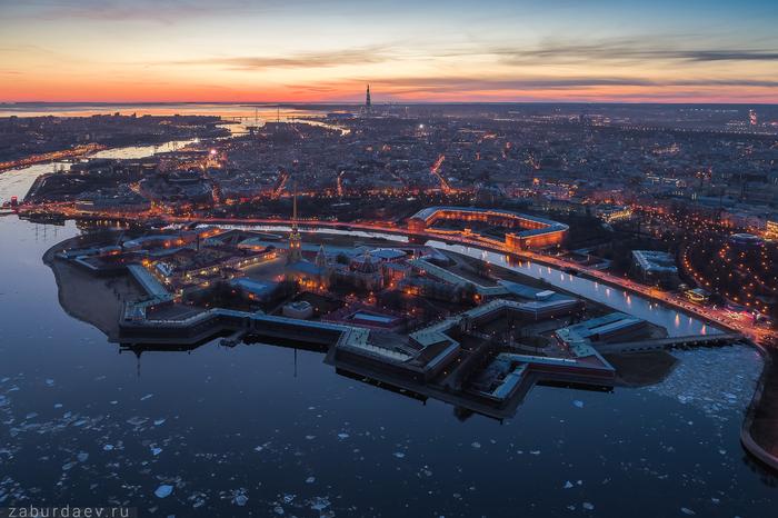 И снова ледоход . Санкт-Петербург, Лед, Осень, Квадрокоптер, Станислав Забурдаев