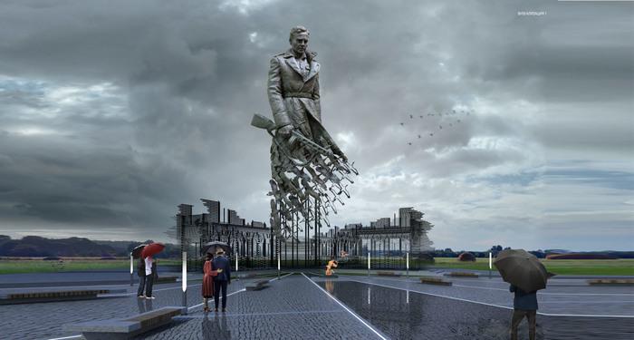 Мемориальный комплекс Советскому солдату подо Ржевом Тверская область, Ржев, Чтобы помнили, Великая Отечественная война, Ржевская битва, Длиннопост, Мемориал