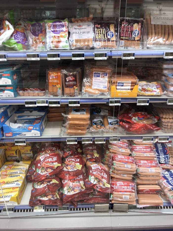 """Цены на еду в западной Норвегии часть 2 - Еда для """"туристов"""" Норвегия, Цены, Цены на продукты, Европа, Путешествие в Европу, Еда, Высокие цены, Длиннопост"""