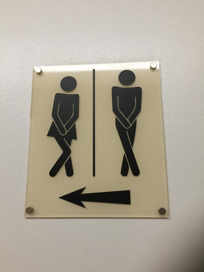 Когда невмоготу Общественный туалет, Испания, Фотография