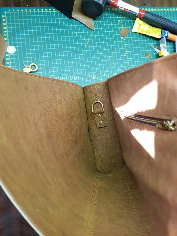 Шпингалет - лучше для мужчины нет! сумка, кожа, своими руками, шпингалет, видео, длиннопост