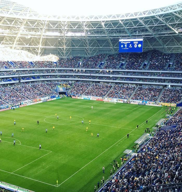 Вчера, в ФНЛ, было установлено сразу два рекорда посещаемости подэлитной лиги, за всю ее историю. Самара, Нижний Новгород, Футбол, Стадион, Самара Арена, Фнл, Россия, Посещаемость, Длиннопост