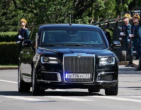 Кортеж Авто, Правительство РФ