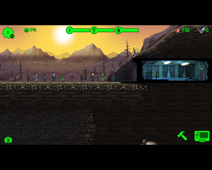 Пикабу уходит под землю! Игровая партия в Fallout Shelter [День 1] 200элит, Fallout shelter, Партия, 49 и 5, Летсрид, Длиннопост