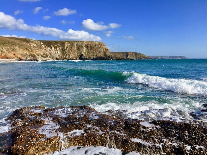 Пронзительной синевы пост Бретань, Фотография, Море, Атлантический океан, Дикая природа