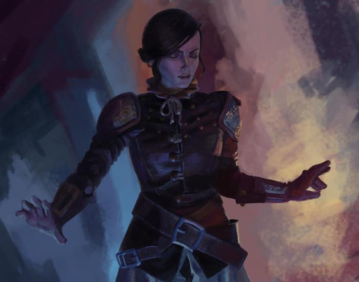 Сианна Ведьмак, Syanna, Кровь и вино, The Witcher 3:Wild Hunt, Арт, Zooey Glass