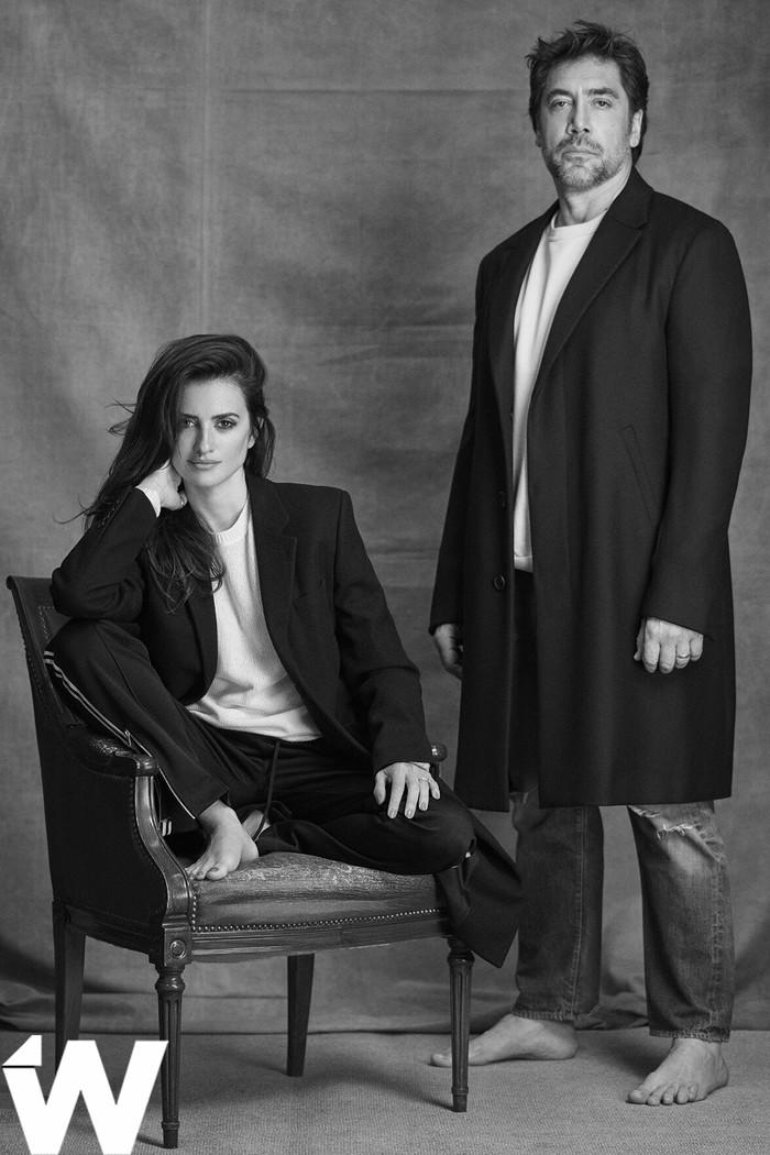 Хавьер Бардем и Пенелопа Крус в новой фотосессии для The Wrap. Хавьер бардем, Пенелопа Круз, Журнал, Фотосессия, Длиннопост