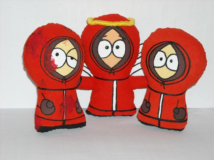 Три стадии Кенни Кенни, South Park, Рукоделие без процесса, Сволочи, Длиннопост